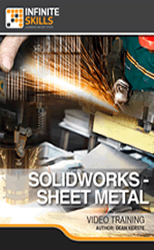 Infiniteskills - SolidWorks - Sheet Metal Training Video with Dean Kerste
