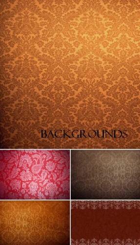 Высококачественные фоны в коричневых тонах