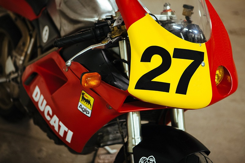Мотоцикл Ducati 748 Endurance - Marcus MotoDesign
