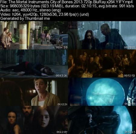 The Mortal Instruments: City of Bones (2013) 720p BrRip x264 - YIFY
