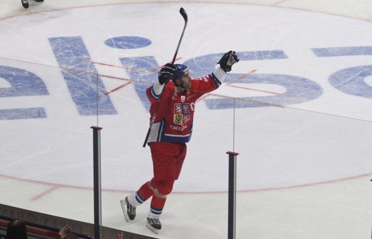 Сборная Чехии по хоккею победила команду Финляндии в матче Кубка Первого канала