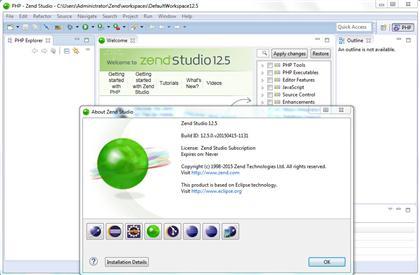 Zend Technologies Zend Studio 12.5 (Win/Mac/Lnx)