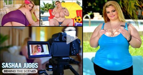 Sashaa Juggs – Busty BBW Behind The Scenes HD