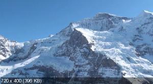 Альпы 3D: Снежные ландшафты / Alps 3D - Paradise of Europe (2012) HDRip