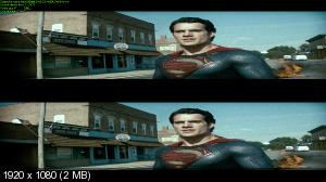 ������� �� ����� / Man of Steel (2013) BDRip 1080p | 3D-Video | halfOU
