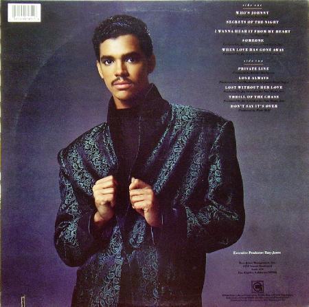 EL DeBARGE - EL DeBARGE (1986), Vinyl-rip