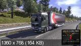 Euro Truck Simulator 2 [v 1.7.1.48352 + 2 DLC] (2013) PC | Лицензия