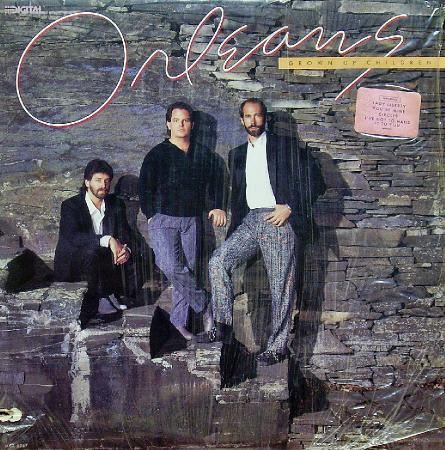 ORLEANS - Grown Up Children (1986),Vinyl-rip