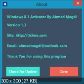 Windows 8.1 Activator by Ahmad Magdi (2013) PC