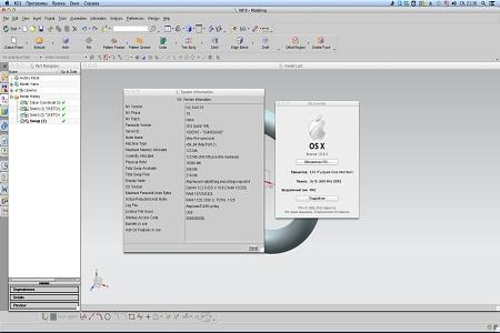 SIEMENS PLM NX ( 9.0.0, MacOS, 2013, Multilang + RUS )