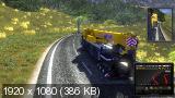 Euro Truck Simulator 2: Gold Bundle [v.1.8.2.5s +3 DLC] (2013) PC | Repack от xatab