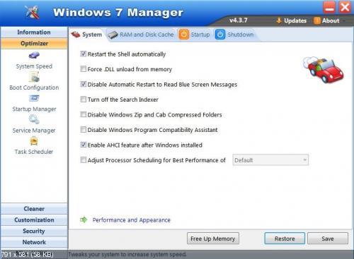 Windows 7 Manager 4.3.7 Final [ENG]