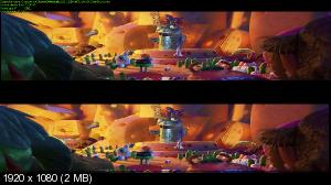 �������... 2: ����� ��� / Cloudy with a Chance of Meatballs 2 (2013) BDRip 1080p | 3D-Video | ������ ����