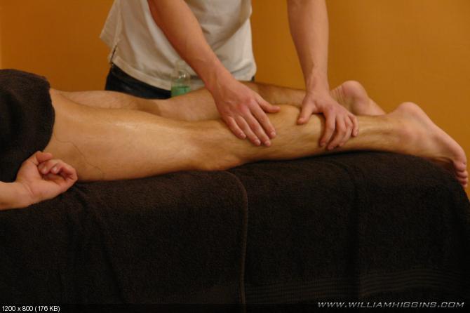 Igor Premsyl Gets Massaged