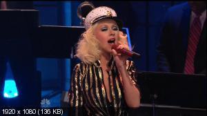 Christina Aguilera - Candyman (The Tonight Show with Jay Leno) (2013) HDTV 1080i