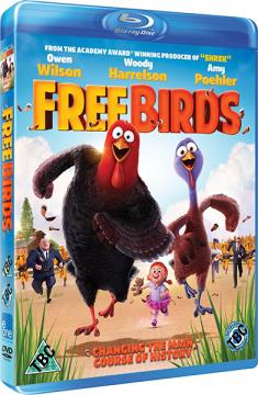 ������: ����� � ������� / Free Birds (2013) BDRip 720p