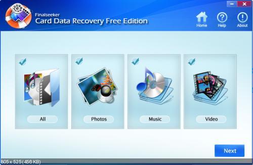 Card Data Recovery (Восстановление карт памяти)