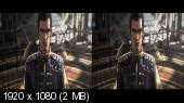 Космический пират Харлок 3Д / Space Pirate Captain Harlock 3D  Горизонтальная анаморфная