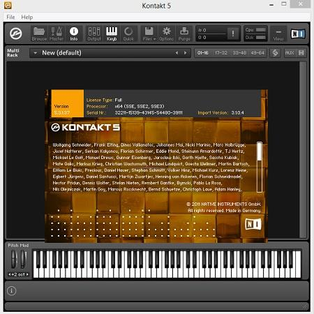 Native Instruments - Kontakt ( v.5.3.1, 2014 )