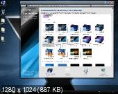 Windows 7 Home Premium x64 SP1 New Look Dark IE11 by Qmax