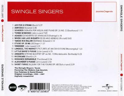 Swingle Singers – Swinging the Classics / 2009 Universal Music Classics & Jazz