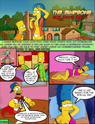 The Simpsons Hot Days