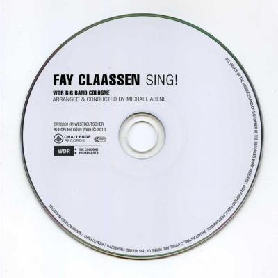 Fay Claassen – Fay Claassen Sing! / 2010 Challengerecordsint