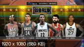 ���������. NBA 14/15. NBA All-Star Weekend 2015 / BBVA Rising Stars Practice. World @ USA [13.02] (2015) HDTVRip 720p