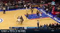 ���������. NBA 14/15. RS: Indiana Pacers @ Philadelphia 76ers [20.02] (2015) WEB-DL 720p | 60 fps