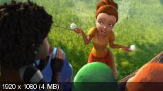 ���: ������� � �������� / Tinker Bell and the Legend of the NeverBeast (2014) BDRemux-1080p | DUB | ������ ����