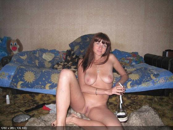 фото пьяные голые русские бабы
