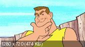 Флинстоуны: Борцы каменного века  / The Flintstones & WWE: Stone Age Smackdown  (2015) BDRip