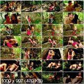 TeenDorf - Karolina - Hot Fucking In The Woods With Young Pretty Girlfriend [HD 720p]