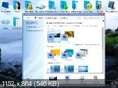 Windows 8.1 Enterprise Update 3 Ultra AeroGlass Style V.3. Win 7 2 IN 1-Variant by 43 Region (x64/2015/RUS)