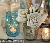 Цветы из мешковины, джута, шпагата 49a9b191f0d6779d72c2874a77eb7a25