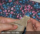 Цветы из мешковины, джута, шпагата E26b6f77c509d4d83107da9f442353c7