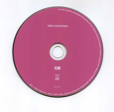 Ladies sing baroque, 2CD / 2011 Naïve